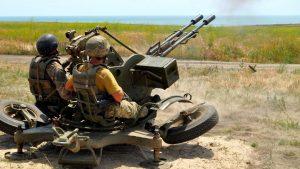 Донбасс. Оперативная лента военных событий 22.08.2017
