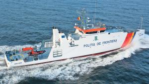 Румынская береговая охрана задержала судно с мигрантами в Черном море