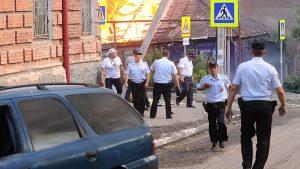 При пожаре в Ростове-на-Дону погиб один человек