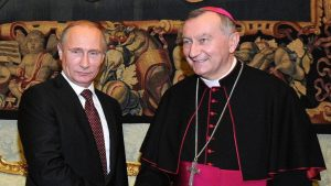 Путин проведет встречу с госсекретарём Ватикана 23 августа