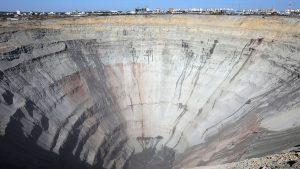 Взрывные работы на руднике «Мир» не дали ожидаемых результатов
