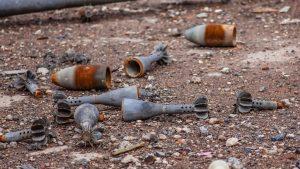 После взрыва на военном складе в Абхазии удалось обезвредить более 800 боеприпасов