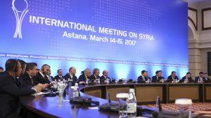 Очередной раунд переговоров пройдет в Астане в середине сентября