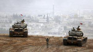 Турция намерена возобновить операцию «Щит Евфрата»
