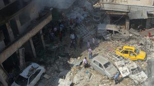 От ударов коалиции США по Ракке за трое суток погибли 38 мирных жителей