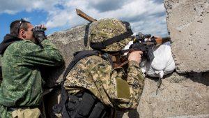 Донбасс. Оперативная лента военных событий 17.08.2017