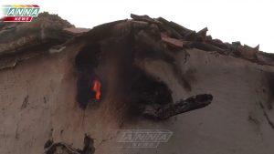 ВСУ обстреляли Калиново в ЛНР зажигательными боеприпасами