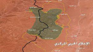 Ливанские и сирийские военные освободили 50% площади Каламунского анклава