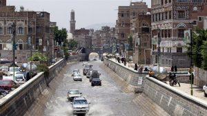 Столица Йемена страдает от наводнения