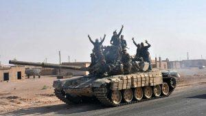Сирийская армия в долине Евфрата подвергается обстрелам СДС и ИГИЛ