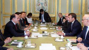 Макрон встретился с представителями оппозиции Венесуэлы