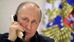 Путин провел телефонные переговоры с Эрдоганом