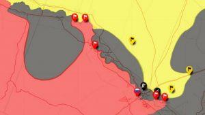 В Сирии обостряется гонка за долину Евфрата