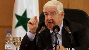 МИД САР: присутствие коалиции в Сирии без согласия властей — оккупация