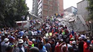 Землетрясению в Мексике последовала серия афтершоков