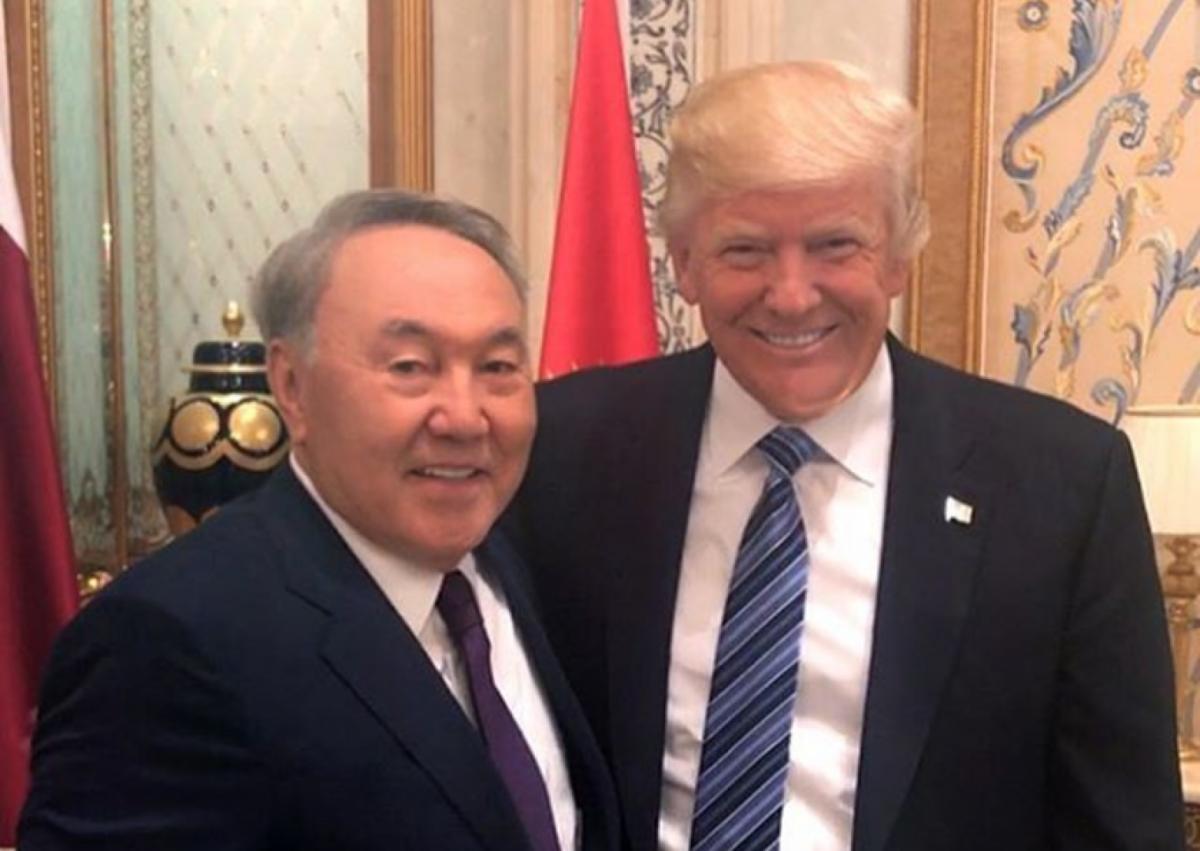 Президент США пригласил Назарбаева в Белый Дом
