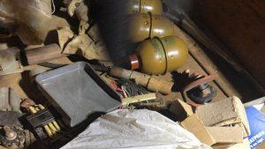 В Киеве обнаружен тайник со взрывчаткой