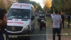 Полиция расценила взрыв в Мерсине как теракт