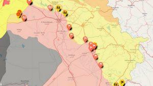 Иракская армия установила контроль над Киркуком и Синджаром