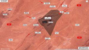 Правительственные войска Сирии штурмуют Карьятайн