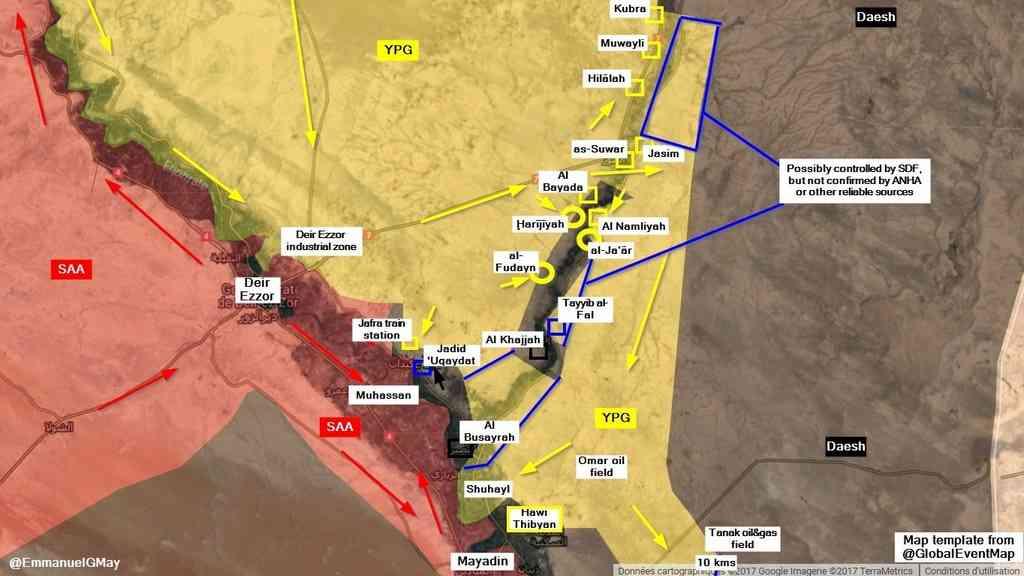 Террористы сбили самолет сирийской армии в провинции Хама