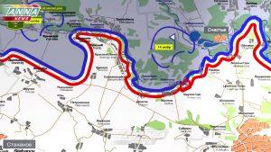 Брифинг НМ ЛНР о ситуации на линии соприкосновения 20 октября 2017 года