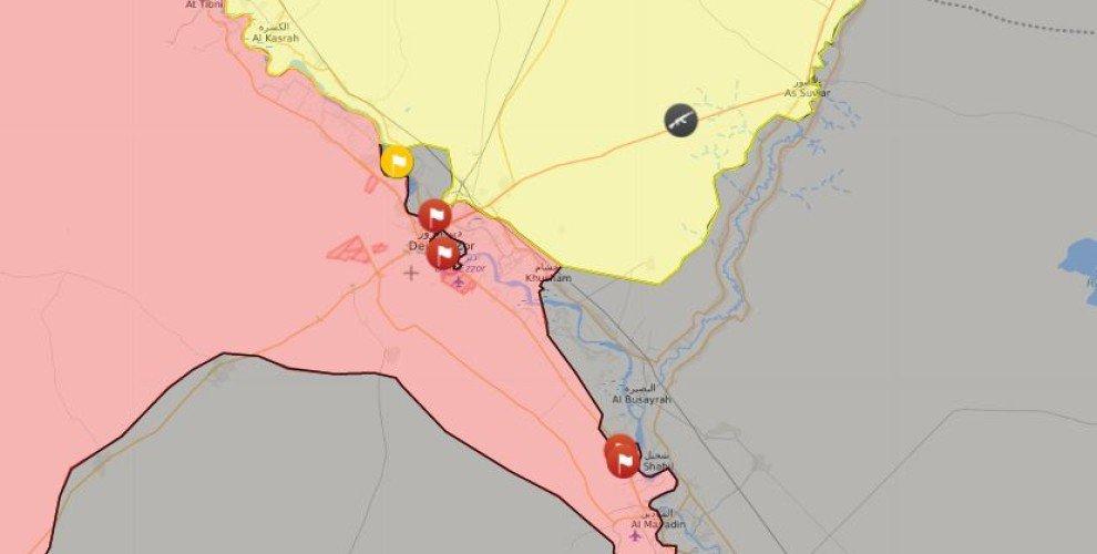 Сводка событий в Сирии за 16 октября 2017 года