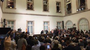Власти Испании собрались на заседание из-за каталонской декларации