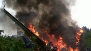 В Йемене разбился военный самолет