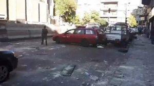 Три террориста-смертника подорвались в Дамаске