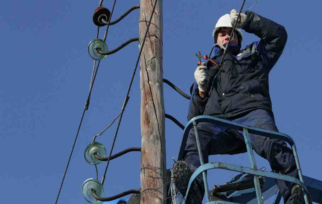 ВБодайбинском районе восстановили подачу электрической энергии