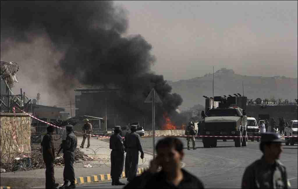 ВАфганистане при взрыве погибли шесть человек