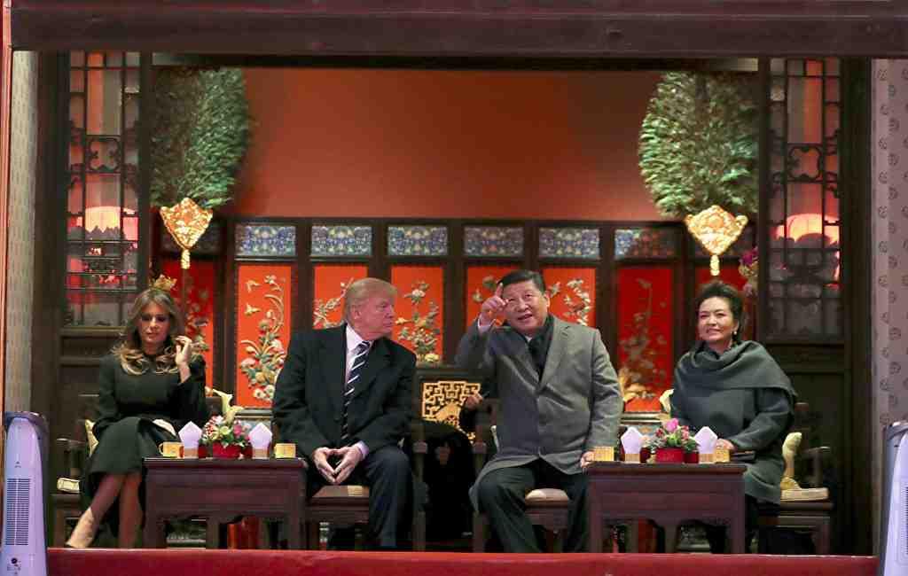 Трамп проводит встречу в«Запретном городе» сСиЦзиньпином