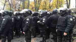 Более 20 полицейских пострадали при столкновениях в Одессе