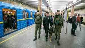 В Киеве полиция проверяет все станции метро