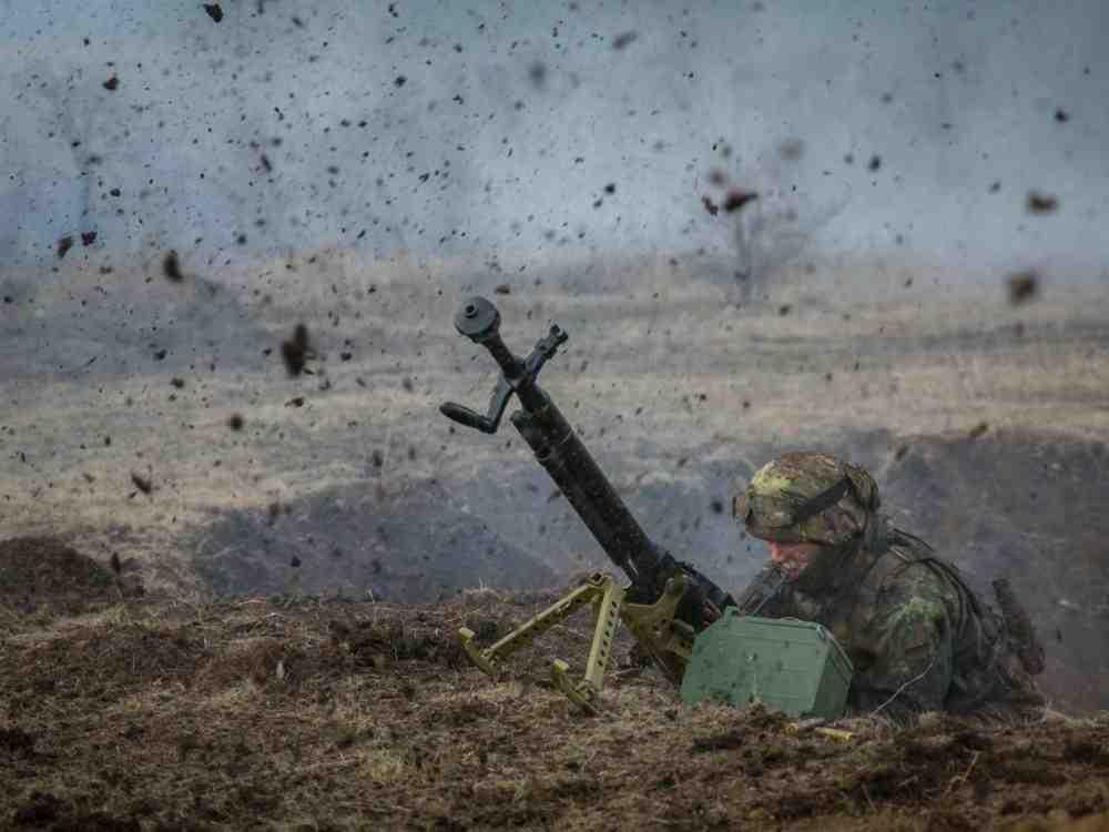 Боевики утверждают, что сбили беспилотник ВСУ в40 километрах отДонецка