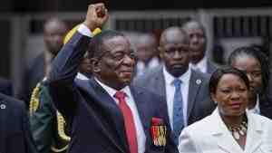Мнангагва принял присягу президента