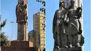 В Щецине демонтируют памятник благодарности Красной армии