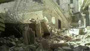 Близ Дамаска идут тяжёлые бои за стратегическую военную базу