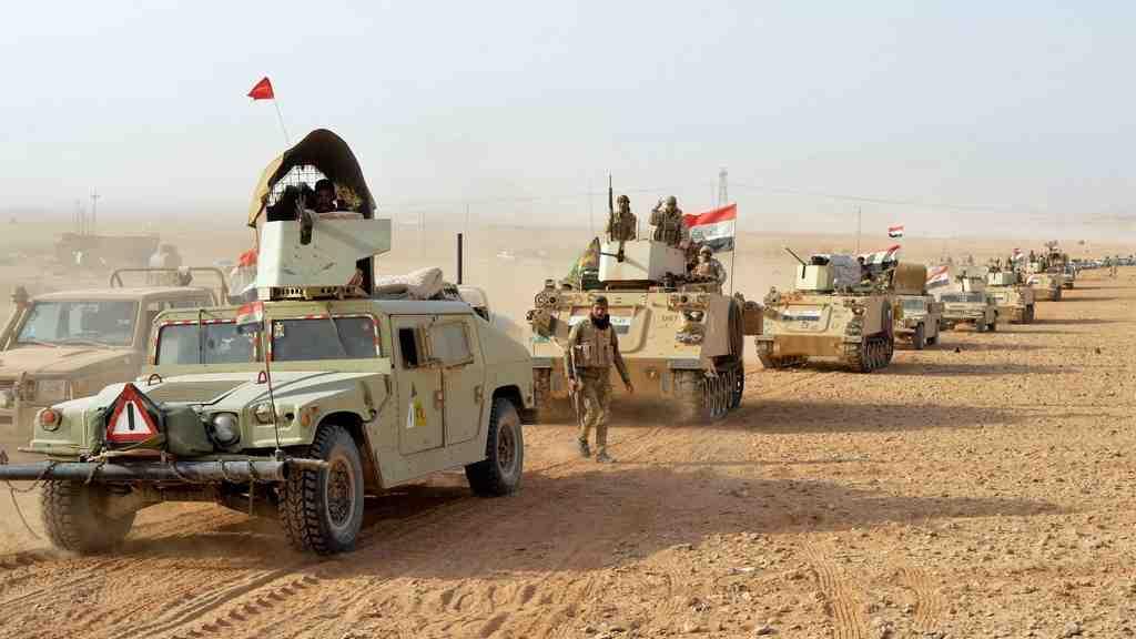 Иракские войска начали операцию повытеснению оставшихся боевиковИГ изпустыни