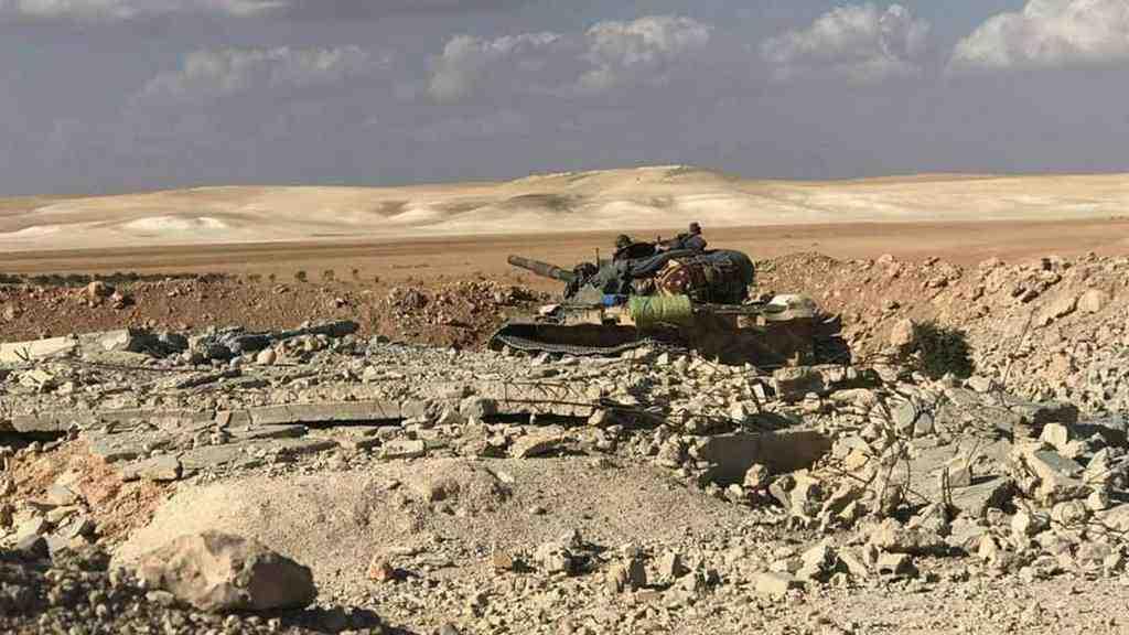 Армия Сирии при помощи ВКСРФ отбила атаку боевиков вХаме