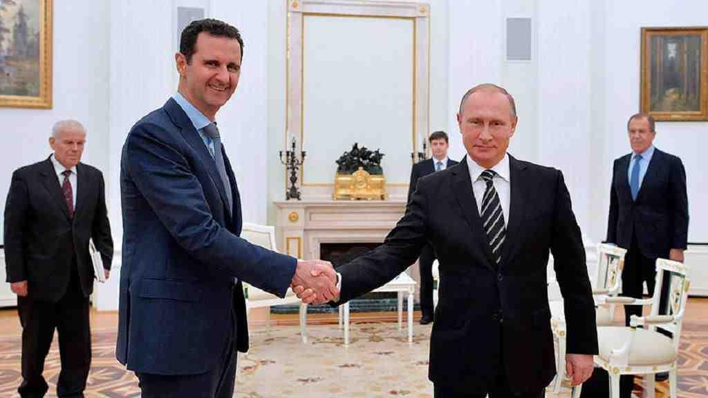 Путин предрек близкий конец военной операции вСирии Сегодня в12:29