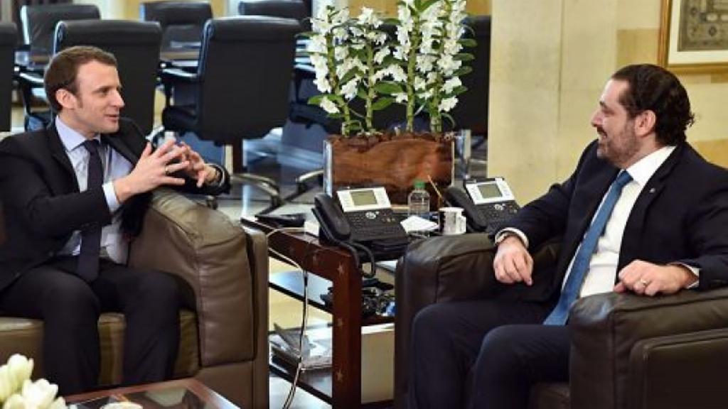 Макрон позвал подавшего вотставку премьера Ливана воФранцию