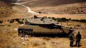 Израиль открыл предупредительный огонь по сирийской армии на Голанах