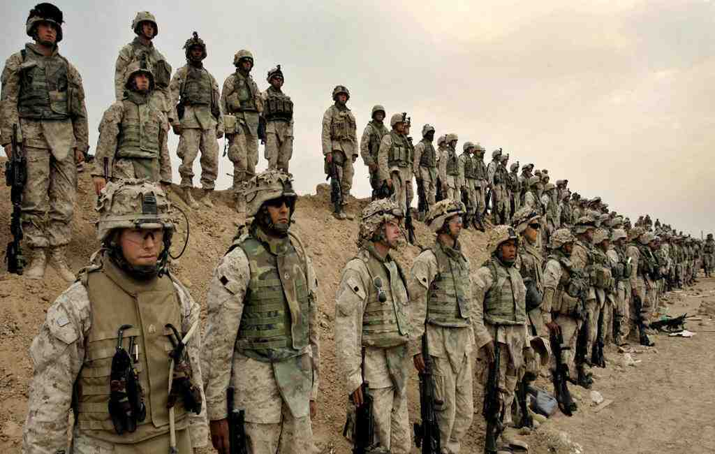 400 морских пехотинцев закончили свою миссию вСирии— США