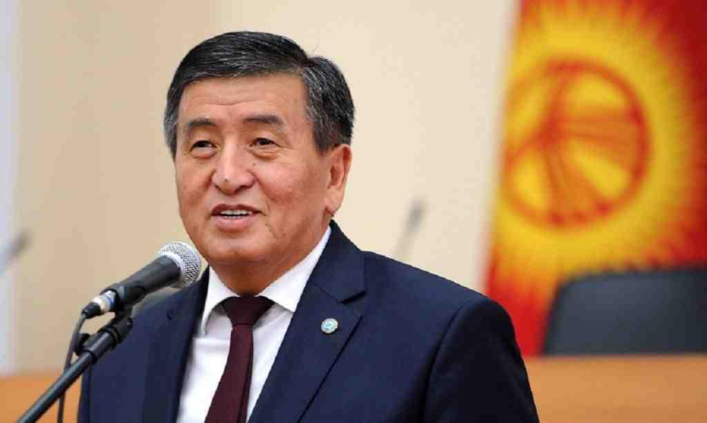 Жээнбеков официально вступил вдолжность президента Киргизии
