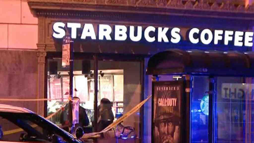 ВЧикаго неизвестный вмаске расстрелял гостей кофейни Starbucks
