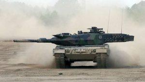 Более половины танков Leopard 2 ВС ФРГ не готовы к эксплуатации