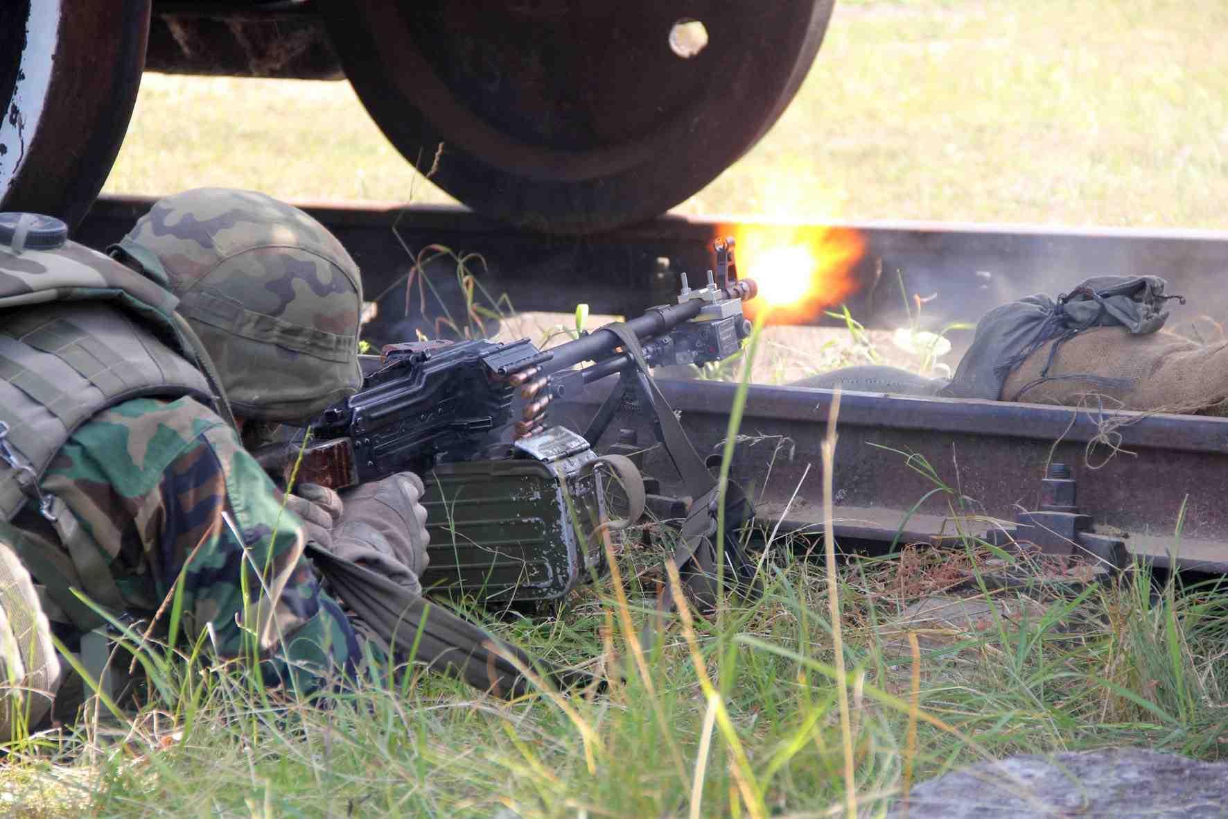 Штаб АТО: НаДонбассе боевики применяют против ВСУ фосфорные мины