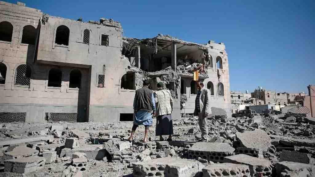 Из-за авиаудара коалиции вЙемене погибли 39 человек, практически  100 ранены